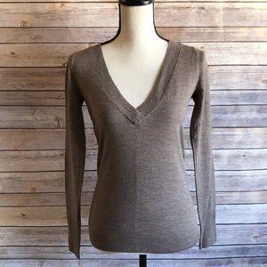 Club Monaco Light Brown Wool Sweater